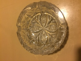 Fantastico Posacenere In Cristallo Di Boemia Anni 80 Stella Di Boemia - Glass & Crystal