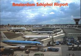 72270122 Flughafen Airport Aeroporto Amsterdam Schiphol Flugzeuge KLM SAS  Flugh - Aviation
