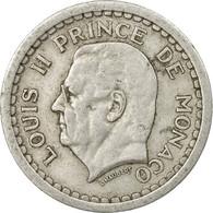 Monnaie, Monaco, Louis II, 2 Francs, Undated (1943), TB+, Aluminium, KM:121 - Monaco