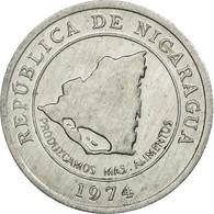 Monnaie, Nicaragua, 10 Centavos, 1974, TTB, Aluminium, KM:29 - Nicaragua