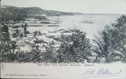 O) JAMAICA, PART VIEW PORT ANTONIO HARBOUR, LANDSCAPE. POSTAL CARD XF - Postcards