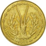 Monnaie, West African States, 5 Francs, 1984, Paris, TTB - Côte-d'Ivoire