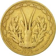 Monnaie, West African States, 25 Francs, 1979, Paris, TB+, Aluminum-Bronze, KM:5 - Côte-d'Ivoire
