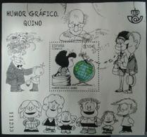 ESPAGNE SPANIEN SPAGNA SPAIN ESPAÑA 2017 SHEET COMICS HB HUMOR GRAFICO: MAFALDA ( QUINO) ED HB-5128 - 1931-Today: 2nd Rep - ... Juan Carlos I