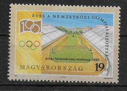HONGRIE N° 3462 * *  Jo  CIO Stade - Jeux Olympiques