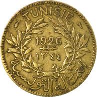 Monnaie, Tunisie, Anonymes, Franc, 1926, Paris, TB, Aluminum-Bronze, KM:247 - Tunisia