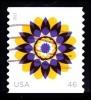 Etats-Unis / United States (Scott No.4722 - Kaleidoscope Flowers) (o) - Gebraucht