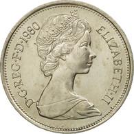 Monnaie, Grande-Bretagne, Elizabeth II, 10 New Pence, 1980, SUP, Copper-nickel - 1971-… : Monnaies Décimales