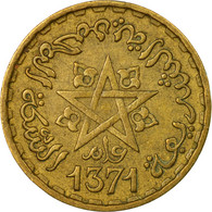 Monnaie, Maroc, Mohammed V, 10 Francs, 1951, Paris, TB, Aluminum-Bronze, KM:49 - Maroc