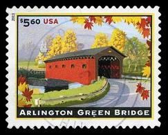 Etats-Unis / United States (Scott No.4738 - Arlington Green Bridge, Vermont) (o) TB / VF - Used Stamps