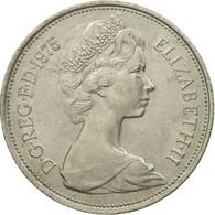 Monnaie, Grande-Bretagne, Elizabeth II, 10 New Pence, 1975, SUP, Copper-nickel - 1971-… : Monnaies Décimales