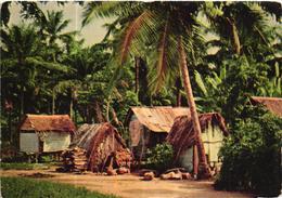 São Tomé E Principe - Abri De Pecheurs Au Pantufo - Sao Tome Et Principe