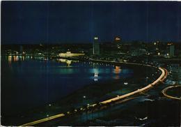 Angola -  Luanda By Night - Vista Da Baia - 1972 - Angola