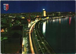 Angola -  Luanda By Night - Vista Nocturna Da Baia - Angola