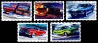 Etats-Unis / United States (Scott No.4743-47 - Puissante Voitures / Mucle Cars) (o) Série De 5 / Set Of 5 - United States