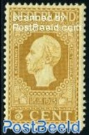 Netherlands 1913 3c, Perf. 11.5:11, Stamp Out Of Set, (Mint NH), History - Kings & Queens - Period 1891-1948 (Wilhelmina)