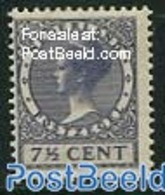 Netherlands 1926 7.5c, Violet With WM, Stamp Out Of Set, (Unused (hinged)), Stamps - Period 1891-1948 (Wilhelmina)