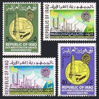 Iraq 427-430,MNH.Mi 476-479. Arab Petroleum Congress,1967.Oil Derrick,Pipeline. - Iraq