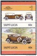 580 Saint Lucia Lincoln KB 1932 MNH ** Neuf SC (LUC-21a) - St.Lucie (1979-...)