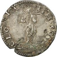 Monnaie, États Italiens, Andrea Gritti (1523-1538), Lira, Venezia, TB+, Argent - Venice