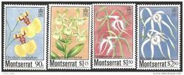 646 Ile Montserrat Orchid Orchidee Orchidées MNH ** Neuf SC (MSE-33c) - Languages