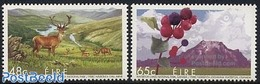 Ireland 2005 Joint Issue Canada 2v, (Mint NH), Nature - Animals (others & Mixed) - Birds Of Prey - Deer - V.. - Nuovi