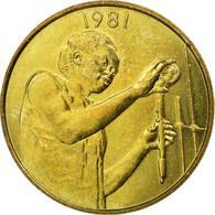 Monnaie, West African States, 25 Francs, 1981, Paris, TTB, Aluminum-Bronze, KM:9 - Côte-d'Ivoire