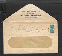 S.Africa, Amalgamated Motors, Oudtshoorn Window Envelope, Used  1/2 Bantam OUDTSHOORN 22 XII 42 - South Africa (...-1961)