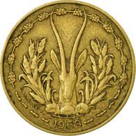 Monnaie, West African States, 10 Francs, 1969, Paris, TB+ - Ivory Coast