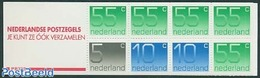 Netherlands 1987 1x5c, 2x10c, 5x55c Booklet, (Mint NH), Stamps - Stamp Booklets - Carnets Et Roulettes