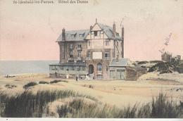 St-Idesbald-lez-Furnes - Hôtel Des Dunes - Gekleurde Kaart - 1911 - Hotels & Restaurants