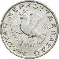 Monnaie, Hongrie, 10 Filler, 1987, Budapest, TB+, Aluminium, KM:572 - Hongrie