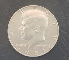 HX - USA 1981 Half Dollar Coin President Kennedy - JFK - Federal Issues
