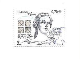 Personnalité 240ème Anniversaire De La Naissance De Sophie Germain 5036 Oblitéré 2016 - France