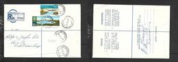 S.Africa, Registered 14c KEIMOS 9 V 72 > KEETMANSHOOP S.W.A.,  UPPINGTON  Transit - South Africa (1961-...)