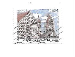 Série Touristique Verneuil Sur Arve 4686 Oblitéré 2012 - France