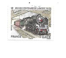 Transport Train Centenaire De La Pacific 4655 Oblitéré 2012 - France