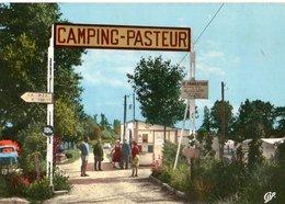 Le Home Sur Mer L'entrée Du Camping Pasteur   CPM Ou CPSM - France