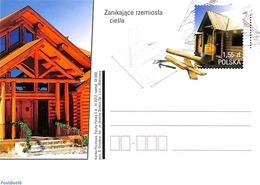 Poland 2012 Postcard Wood Construction, (Unused Postal Stationary) - 1944-.... Republik