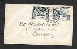 Southern Rhodesia, U.P.U. 3d, 2d, Plain FDC,  CAUSEWAY S. RHODESIA 10 OCT 49 C.d.s. - Southern Rhodesia (...-1964)