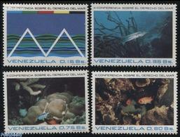 Venezuela 1974 Sea Right Conference 4v, (Mint NH), Nature - Fish - Pesci