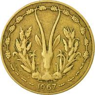 Monnaie, West African States, 10 Francs, 1967, Paris, TB+ - Côte-d'Ivoire