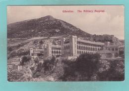 Old Post Card Of The Military Hospital,Gibraltar,R58. - Gibraltar