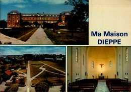 "76-DIEPPE  ""MA MAISON""..3 VUES...CPM - Dieppe"