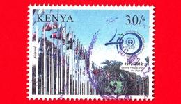 KENIA - 2012 - UNEP - Nairobi - 40 ° Anniversario Del Programma Ambientale Delle Nazioni Unite - 30/- - Kenia (1963-...)