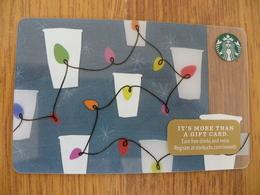 Starbucks Gift Card USA - Christmas 2017 6142 - Cartes Cadeaux