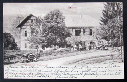 Slovakia / Hungary: Szliács (Sliac), Bellevue 1903 - Slovacchia