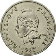 Monnaie, French Polynesia, 10 Francs, 1967, Paris, TTB, Nickel, KM:5 - Polynésie Française