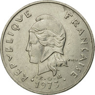 Monnaie, French Polynesia, 20 Francs, 1973, Paris, TB+, Nickel, KM:9 - Polynésie Française