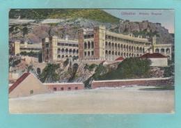 Old Post Card Of Military Hospital,Gibraltar,R58. - Gibraltar